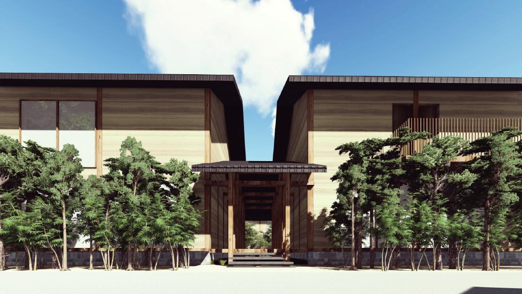 門前宿「和空法隆寺」外観イメージ